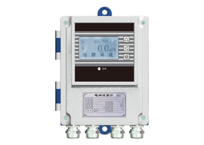 Split Type Magnetic Flow Meter , Effluent Treatment Electromagnetic Flow Meter