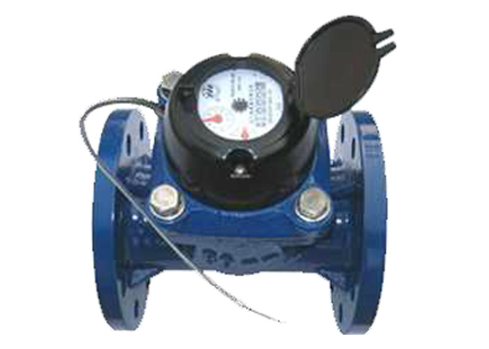 DN200 CI Woltman Displacement Multi Jet Water Meter Easy Maintenance