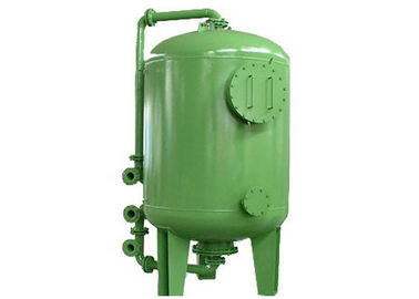 Maganese Sand Mechanical Water Purification Tank dengan Fe And Mn Irons Removal Mild Steel Q235B