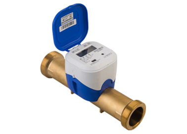 GPRS Wireless Ultrasonic Water Meter, Jenis Konvectional DN25 Brass Tube R500